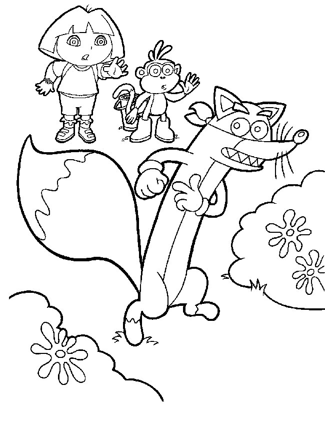 coloring pages for girls dora. Play Free Online Dora Coloring